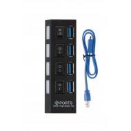 4 Port Usb 3.0 Çoğaltıcı Çoklayıcı Hub - Yüksek Hız 5 Gbps  BST-2070p