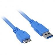 USB 3.0 HDD HARDDİSK KABLOSU KABLO 150 cm 1.5M MG-2125 VERİ BAĞLANTI